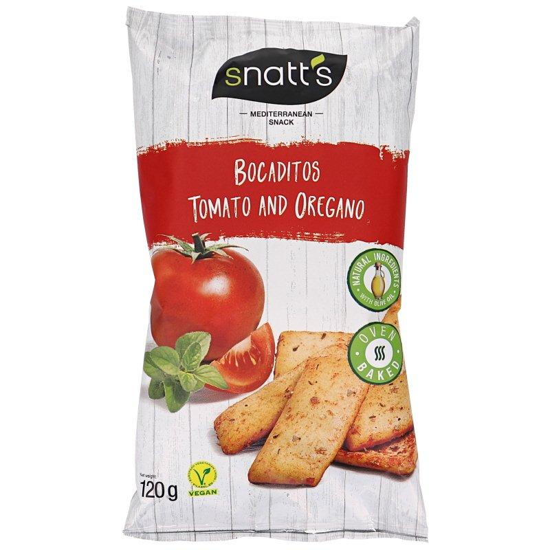 Brödsnacks Tomato & Oregano - 21% rabatt