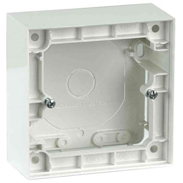 Elko Plus Forhøyningsramme for dimmer, 1 rom, hvit