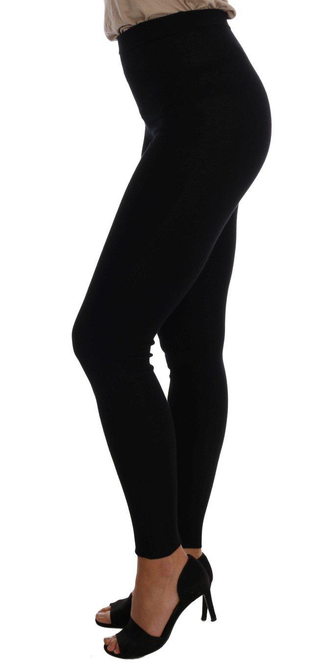 Dolce & Gabbana Women's Tights Black SCS200 - IT38 XS