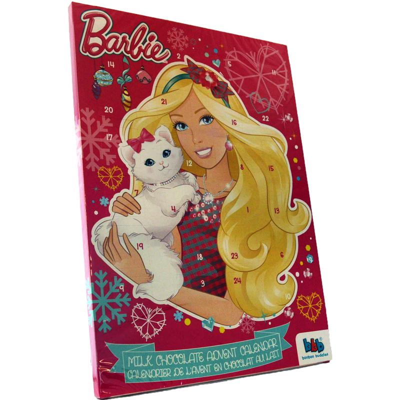 Adv. kalender Barbie - 50% rabatt