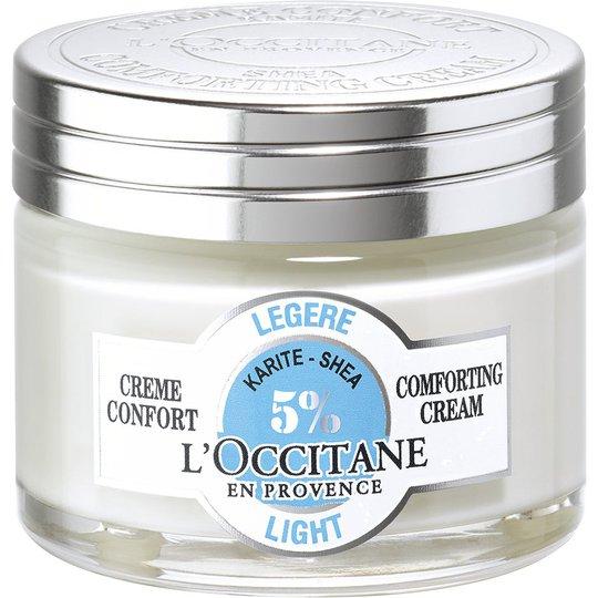 L'Occitane 5% Shea Comforting Cream Light, 50 ml L'Occitane 24h-voiteet