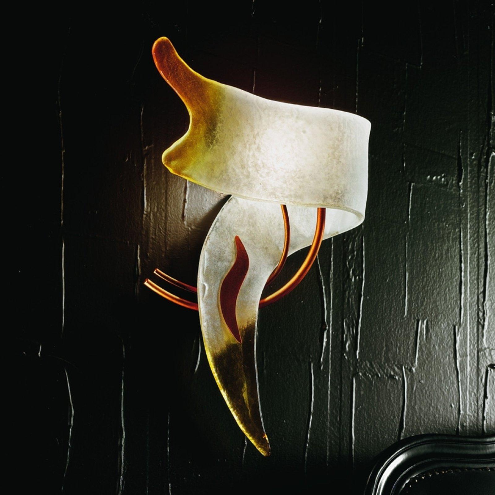 CAPRI italiensk designer-vegglampe venstrevendt