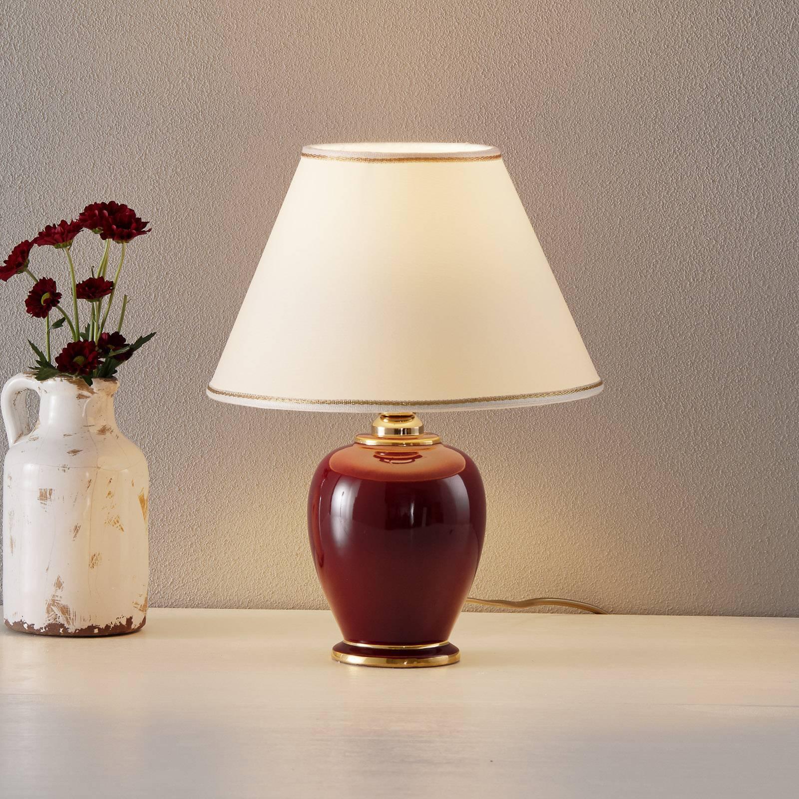 Søt bordlampe Bordeax H: 34 cm/ D: 25 cm