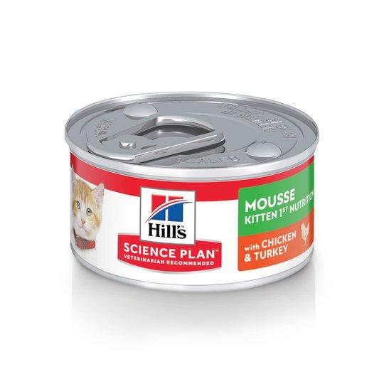 Hill's Science Plan Kitten First Nutrition Mousse Chicken & Turkey 82 g