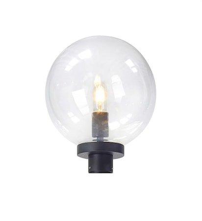 Sphere Lampehode til 107122 Black/Clear