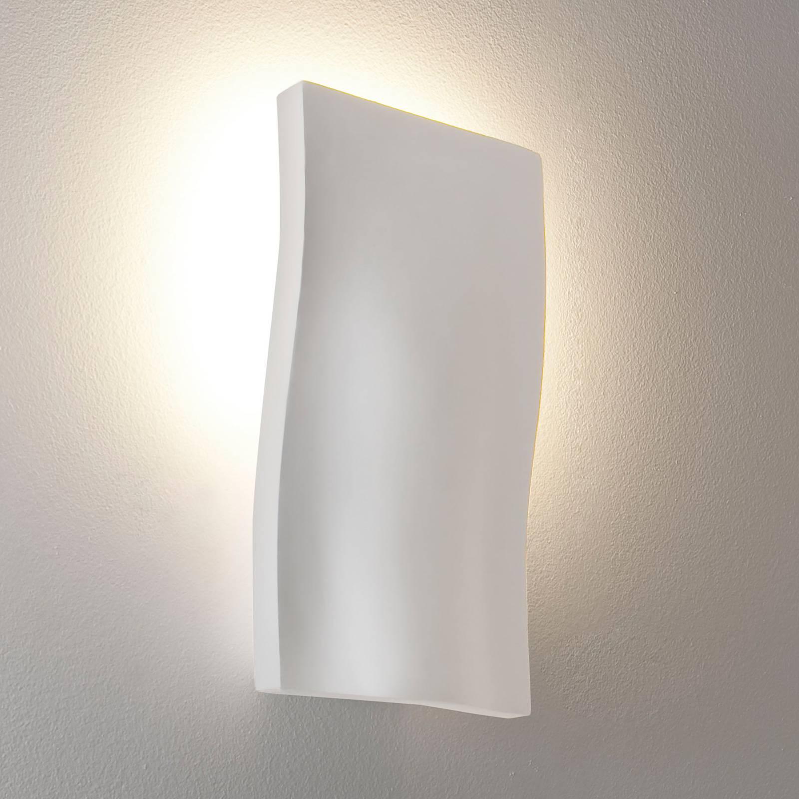 Astro S-Light -seinävalaisin kipsiä