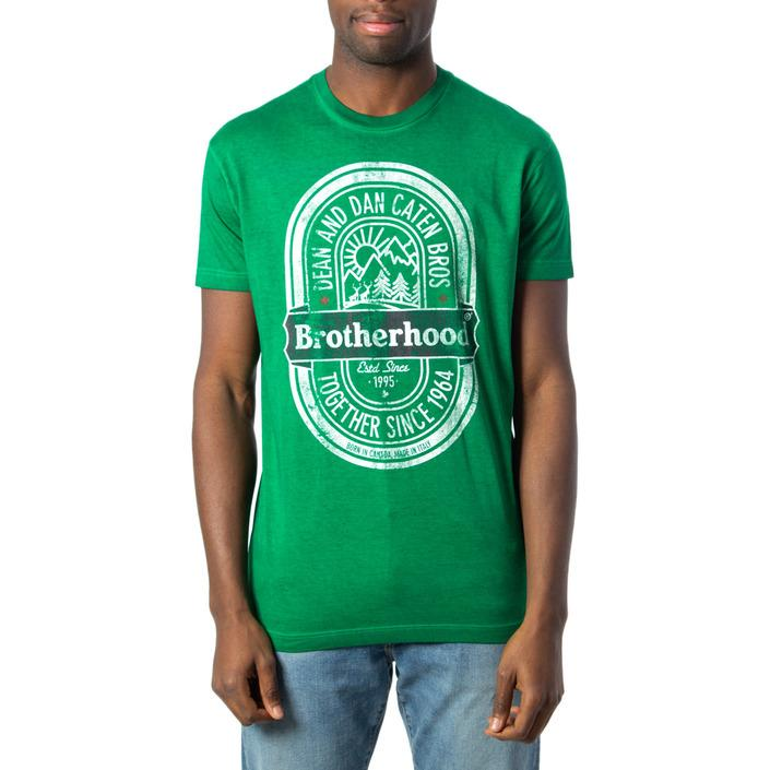 Dsquared Men's T-Shirt Green 170162 - green S