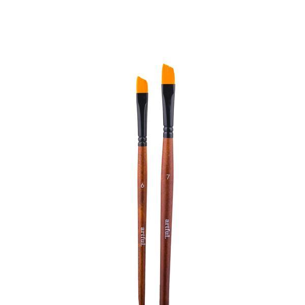 Artful Paint Brushes - Angle