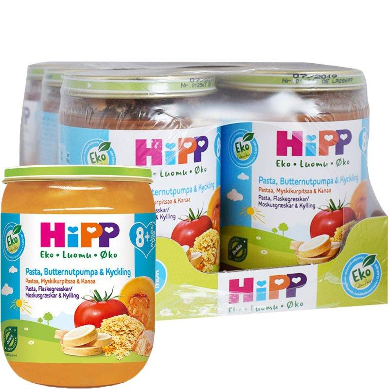 Eko Hel Låda Barnmat Pasta, Butternutpumpa & Kyckling 6 x 190g - 34% rabatt