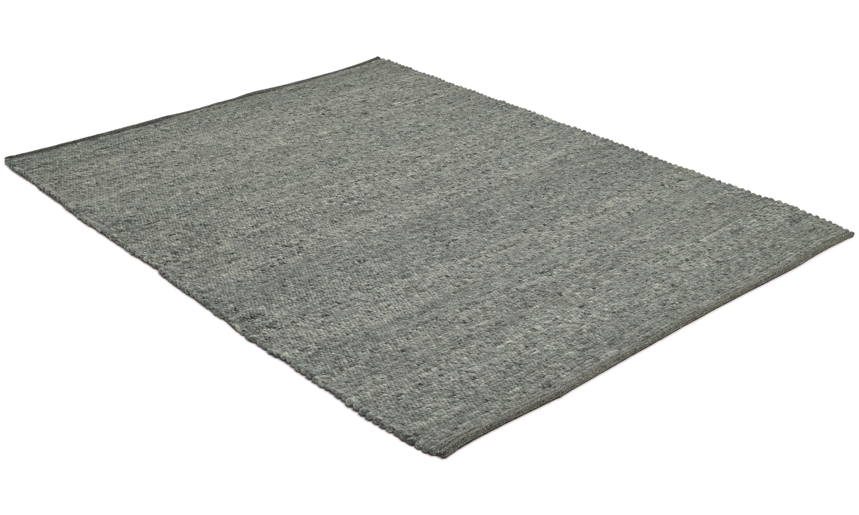 Merino granit - håndvevd ullteppe