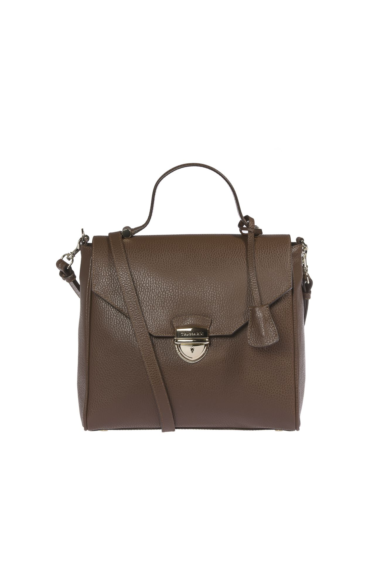 Trussardi Women's Handbag Brown 1DB548_69DarkBrown