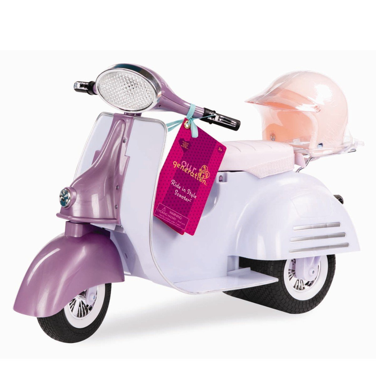 Our Generation - Ride in Style Scooter, Purple and Blue (737360)
