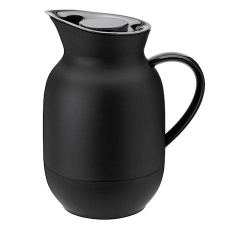 Amphora Vakuum Kaffekanne soft black 1 L