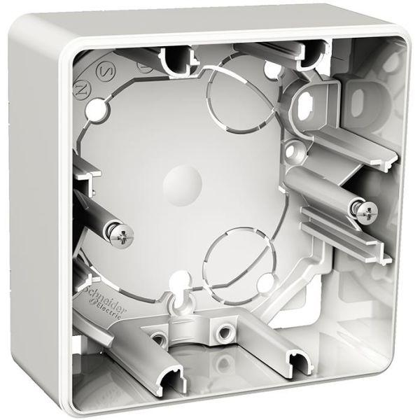 Schneider Electric Exxact Korotuskehys himmentimelle, valkoinen 1-lokeroinen