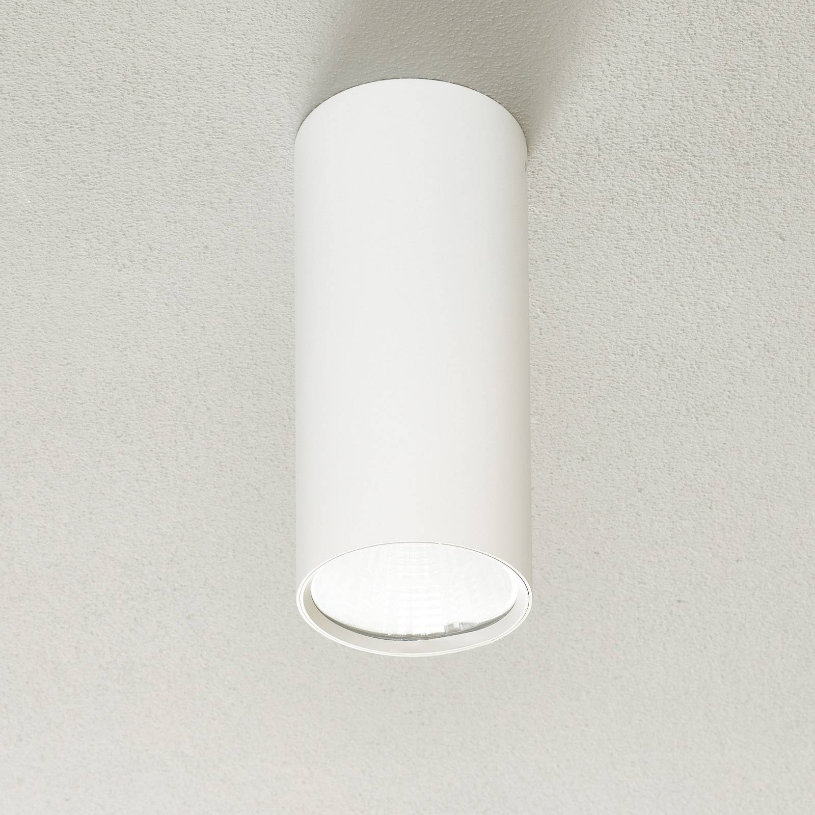 Lucande Takio -LED-alasvalo 2700K 10 cm valkoinen