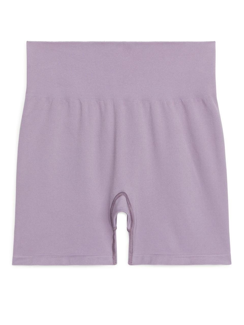 Seamless™ Yoga Shorts - Purple