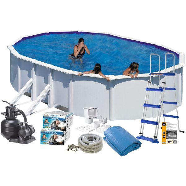Swim & Fun 2705 Allaspaketti 7,3 x 3,75 x 1,2 m, 25 323 litraa