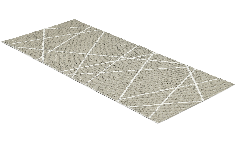 Line sand - plastteppe
