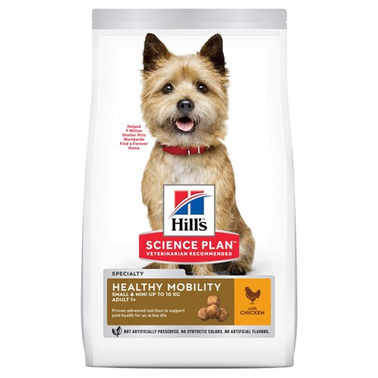 Hill's Science Plan Dog Adult Healthy Mobility Small & Mini Chicken (6 kg)