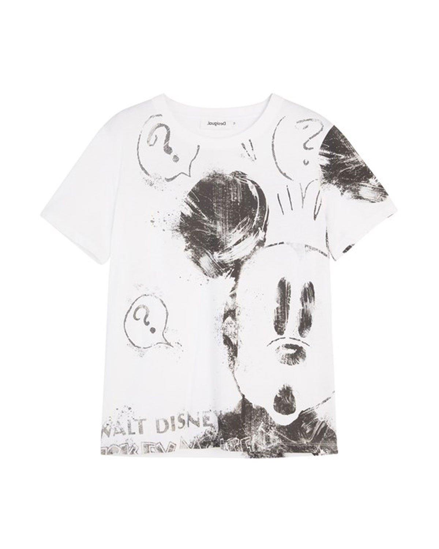 Desigual Women's Shirt Black 320065 - white XS