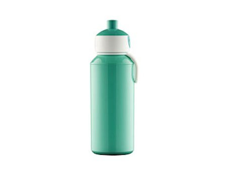 Drikkeflaske Pop-up 400ml turkis