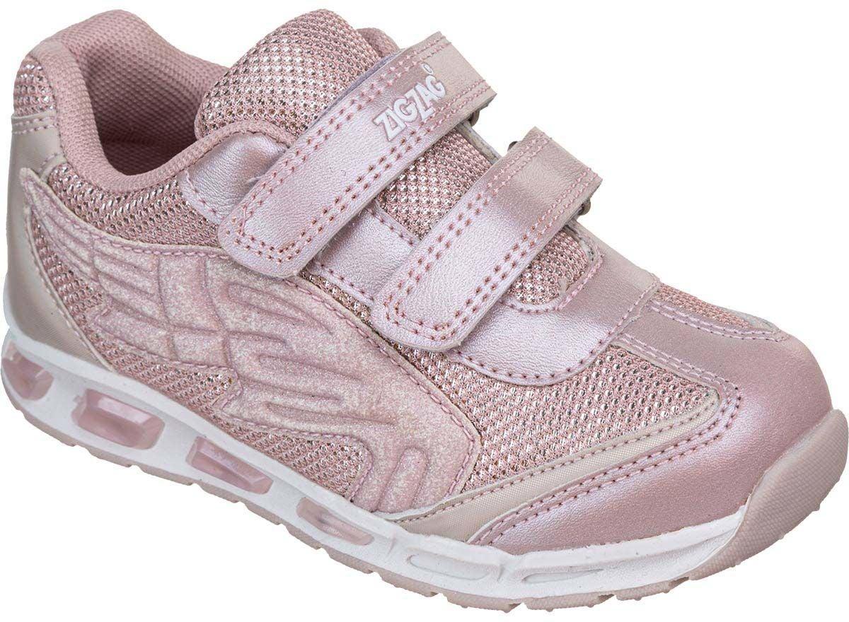 ZigZag Roseau Blinkande Sneaker, English Rose, 32