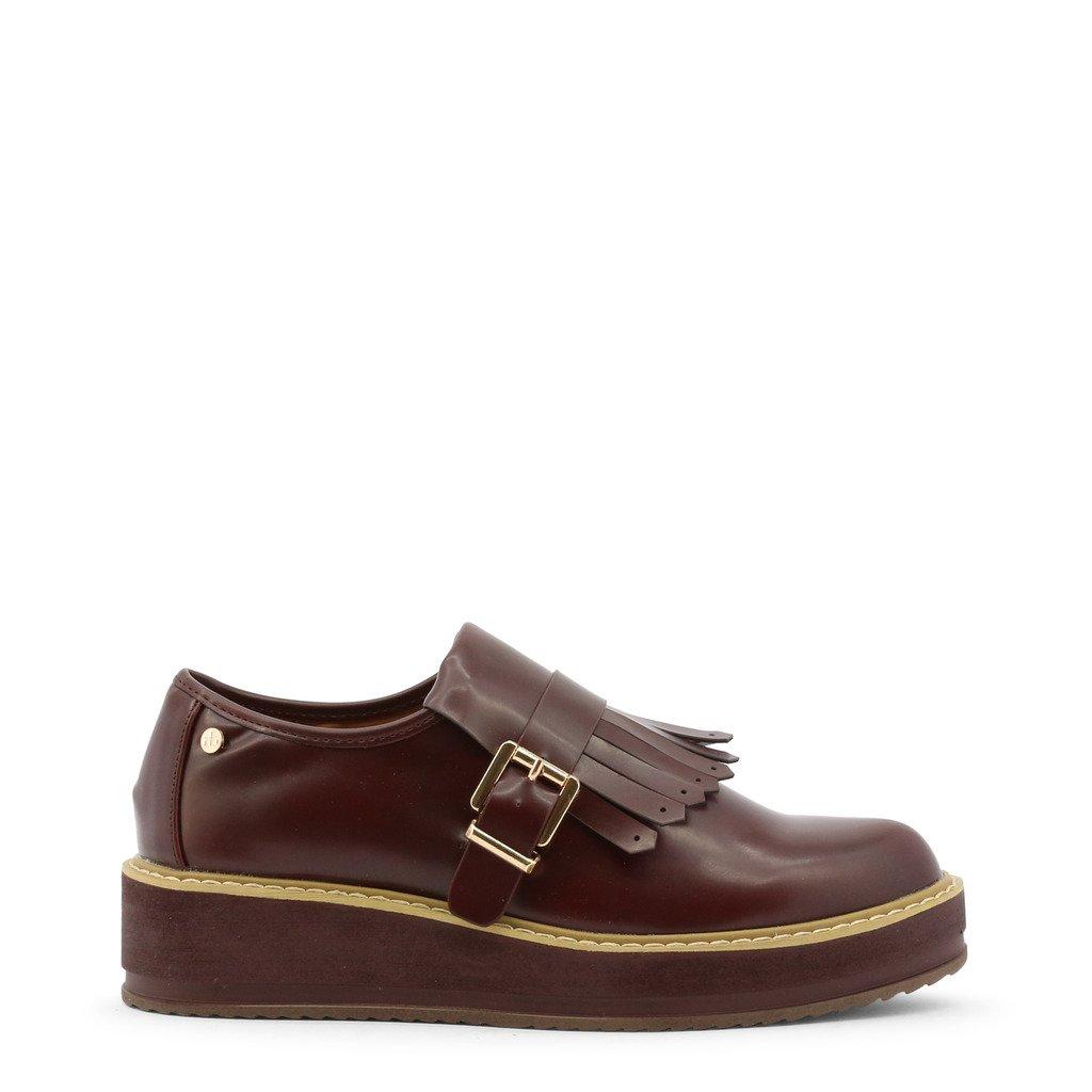 Roccobarocco Women's Flat Shoe Red RBSC1JM01 - red EU 35