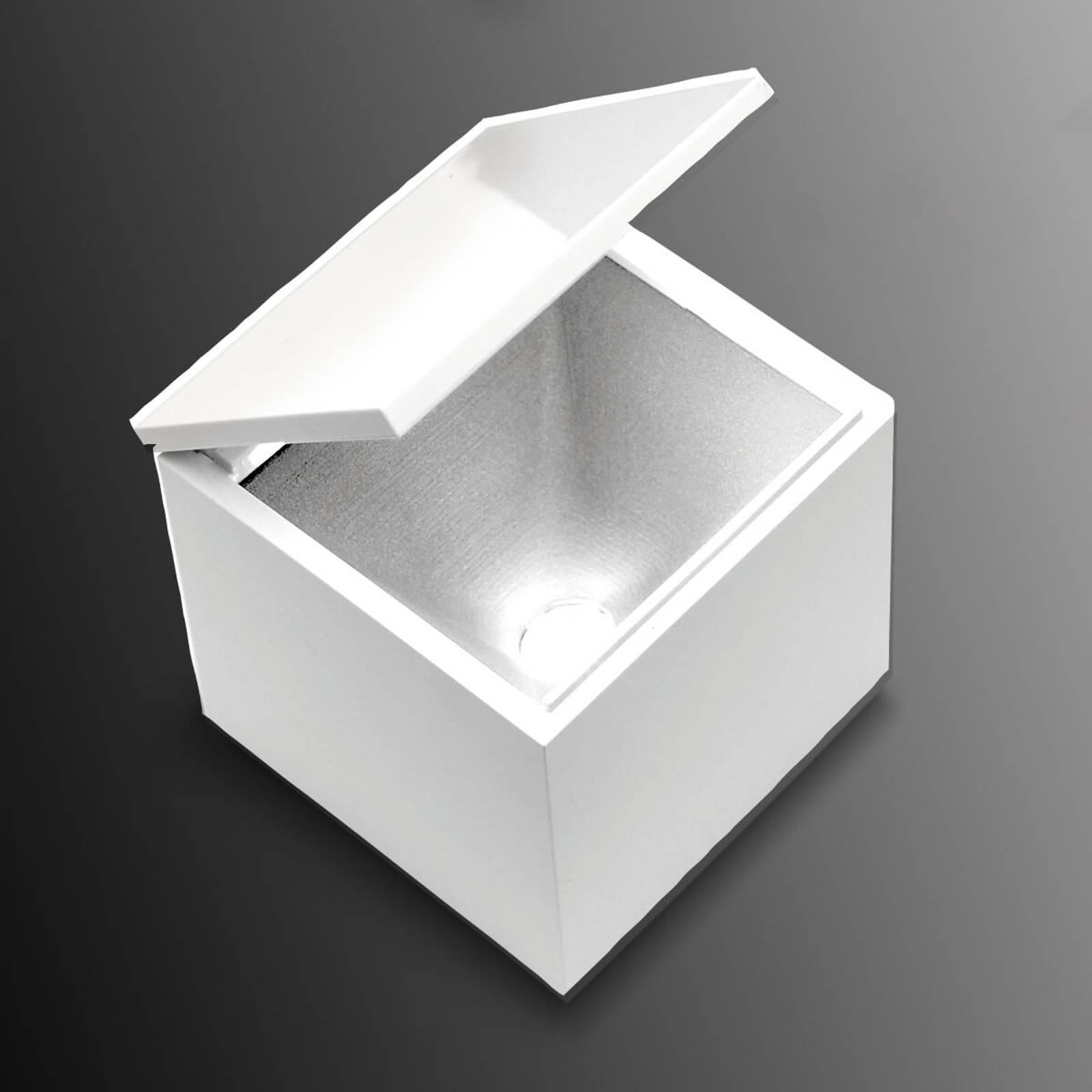 Cini&Nils Cuboled - LED-pöytälamppu, valkoinen
