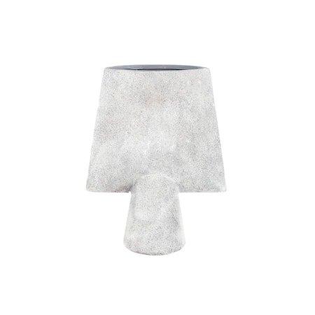 Sphere Kvadratisk Vase Mini - Lysegrå