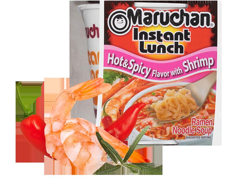Maruchan Instant Lunch - Hot & Spicy Shrimp Noodles