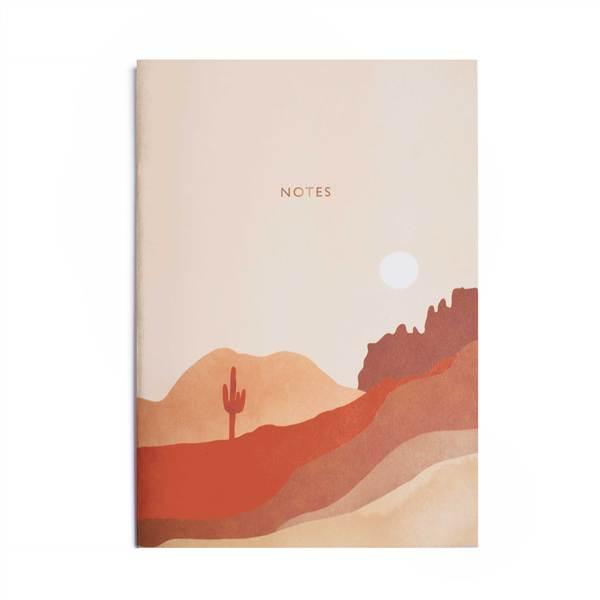 Desert Sunset A4ish Notebook