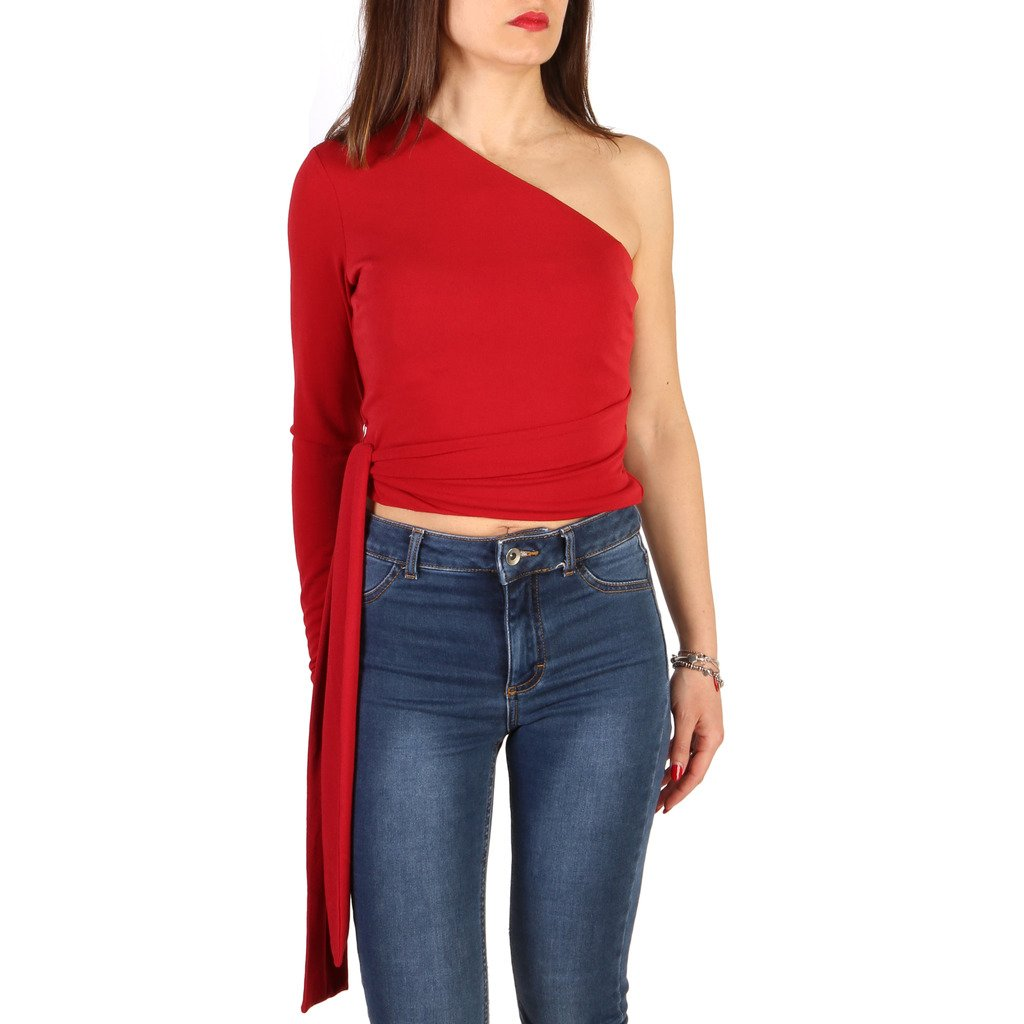 Guess Women's Sweater Red 71G609 - red XS