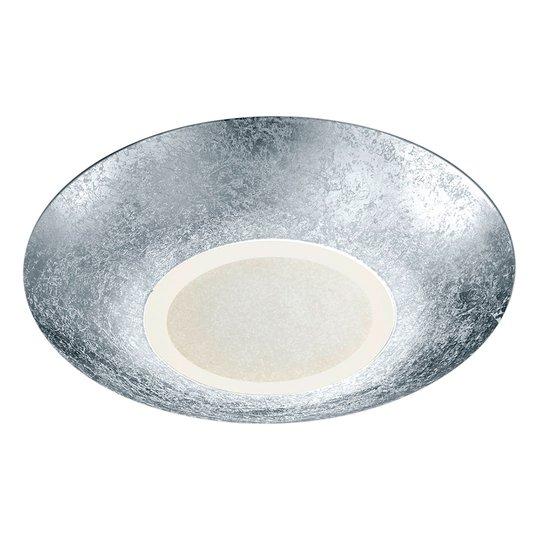 LED-kattolamppu Chiros pyöreä hopeainen