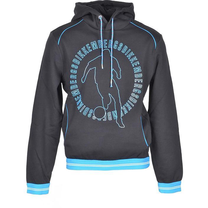 Bikkembergs Men's Sweatshirt Black 307216 - black M