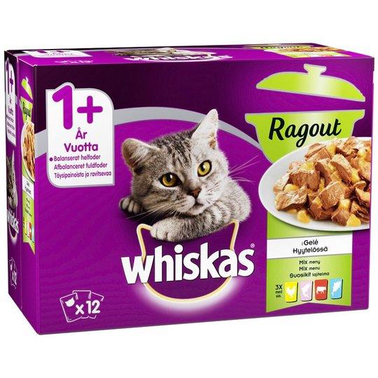 Kissanruoka Lihalajitelma 12kpl - 24% alennus