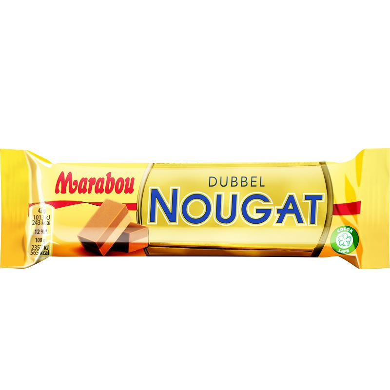 Dubbel Nougat Suklaapatukka - 37% alennus
