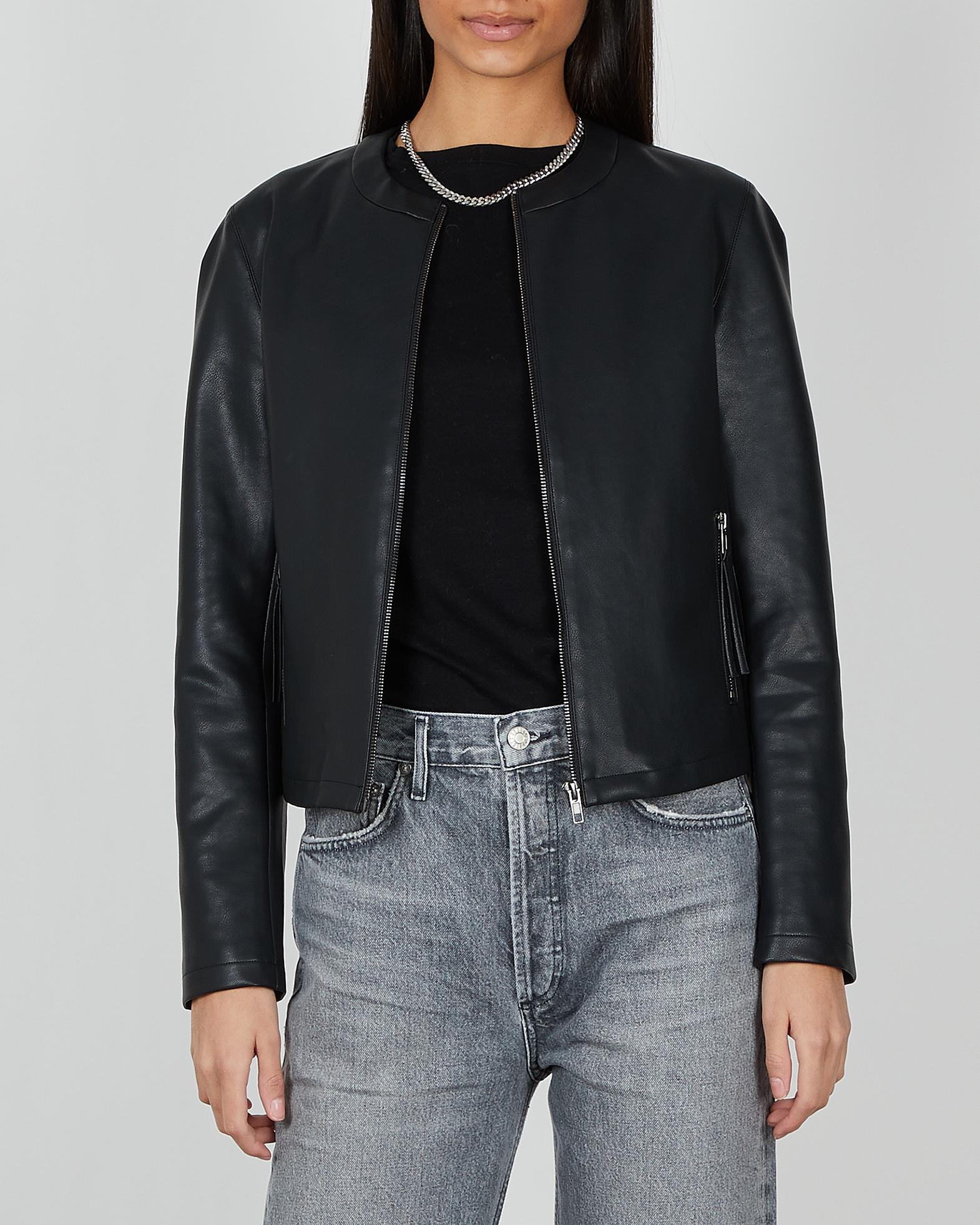 Wakakuu Icons Jacka Faux Leather svart XS