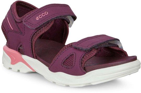 Ecco Biom Raft Sandal, Aubergine, 24