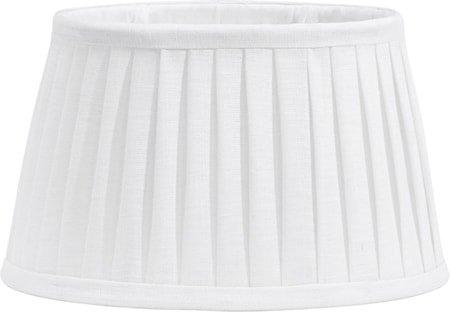 Indi Lampeskjerm Plissé White 43 cm
