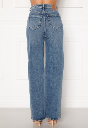 ONLY Juicy HW MB Wide Leg Jeans Medium Blue Denim 26/34