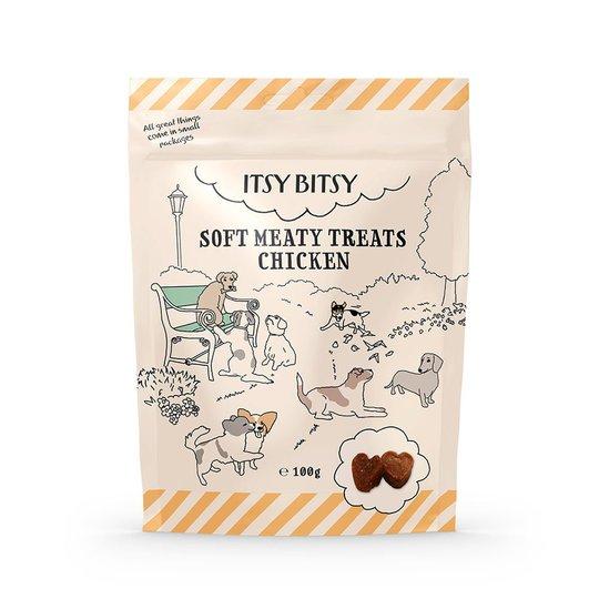 ItsyBitsy Dog Mjukt Kycklinggodis 100 g (100 grammaa)