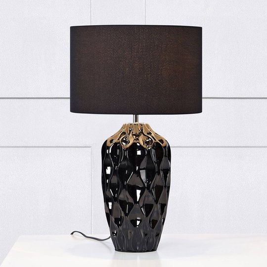 Bordlampe Angela, svart