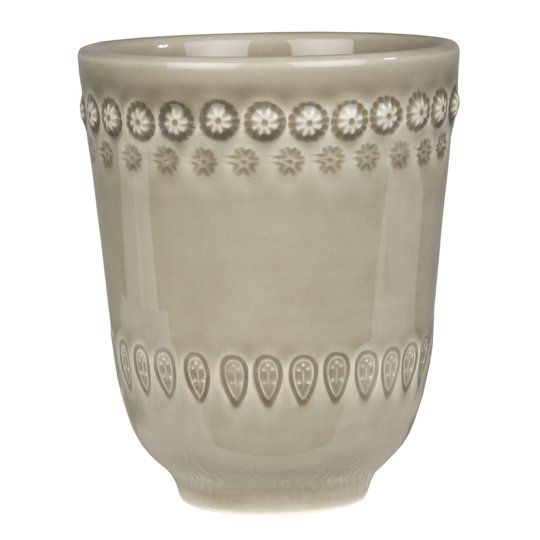 PotteryJo - Daisy Mugg 35 cl Greige