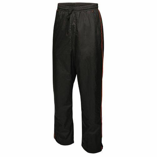 Regatta Men's Athens Mesh Lined Trouser Various Colours TRA412 - Black/Classic Red S