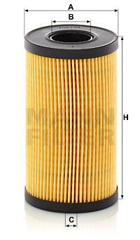 Öljynsuodatin MANN-FILTER HU 6024 z