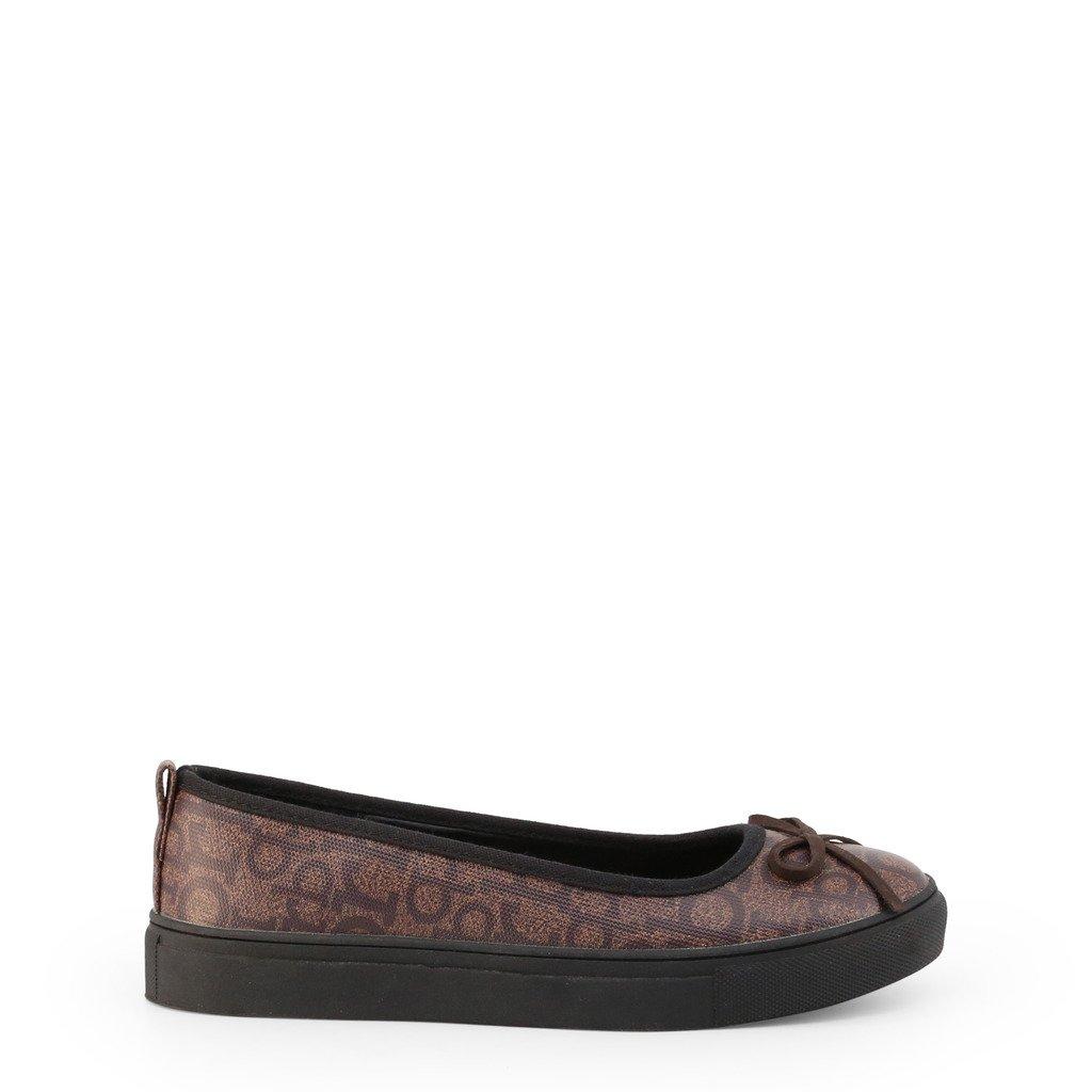 Roccobarocco Women's Flat Shoe Brown RBSC0VB01 - brown EU 36