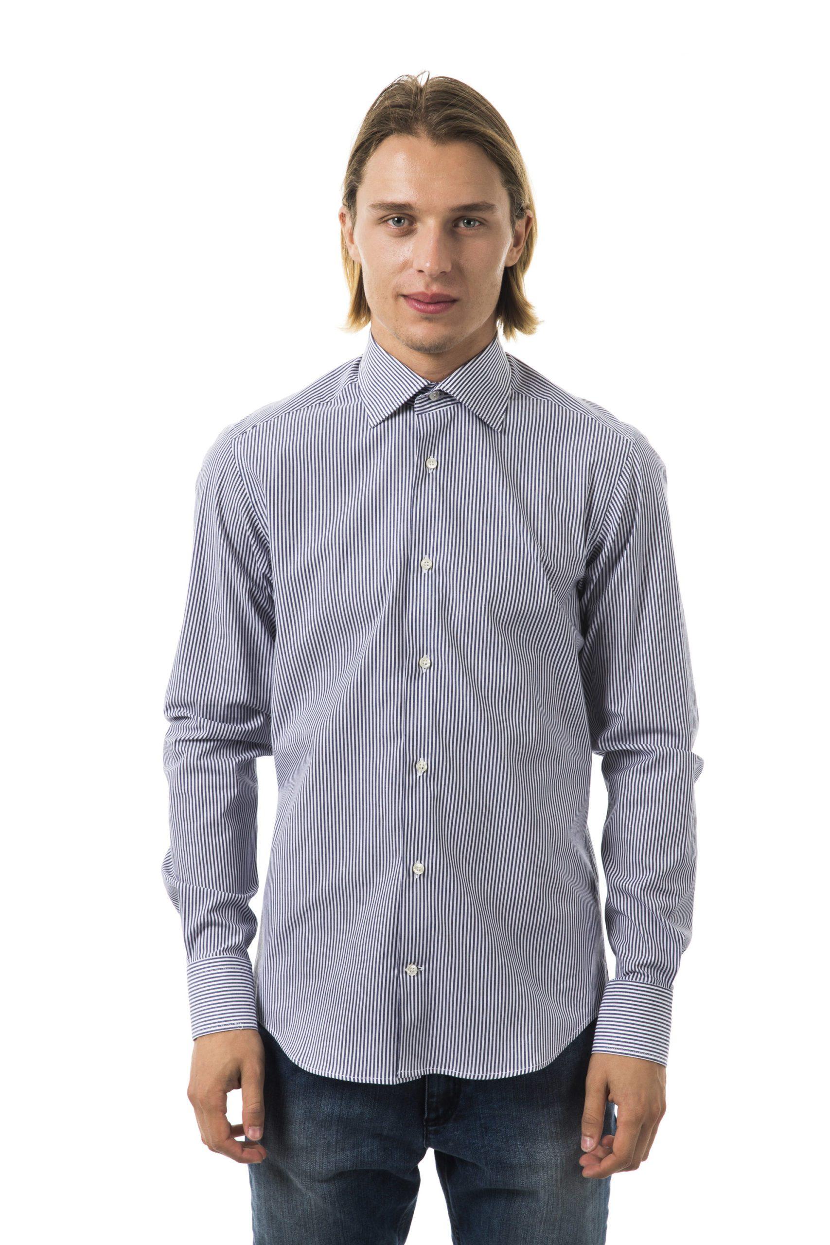 Uominitaliani Men's Blu Shirt Light Blue UO1394654 - M