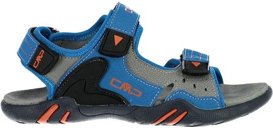 CMP Alphard Hiking Sandal, Cyano/Orange 28