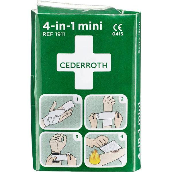 Cederroth 1911 4-i-1 Mini Blodstopper