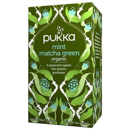 Pukka Herbs Mint Matcha Green, 20 påsar